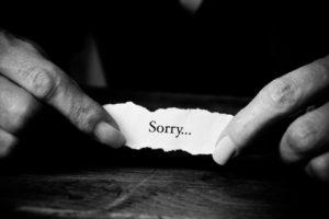 When apologies don't work